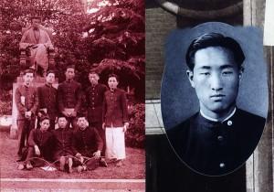 早稲田時代の文師
