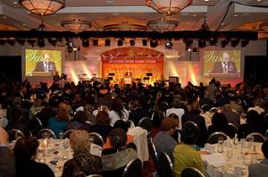 10月1日、ワシントン郊外のホテルで開催された文鮮明師の英語版自叙伝出版記念バンケット